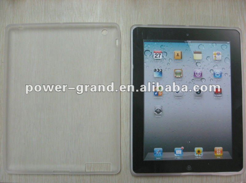 TPU case for Apple New Ipad 3 Ipad3 (We accept Paypal, Escrow)