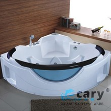 WLS-8602 China famous brand Ecary jet whirlpool bathtub with tv