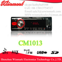 Hot sale!LED display Car Mp3 Player/Mp3 mit USB CM1013 with 4*10W output power
