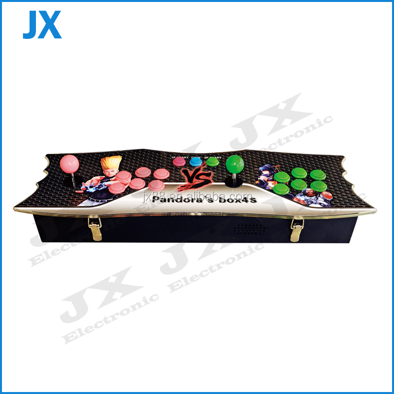 Pandora box 4 arcade joystick game console with 645 in 1 jamma game board