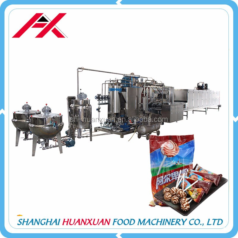 Commercial Automatic Lollipop Candy Making Machine Price