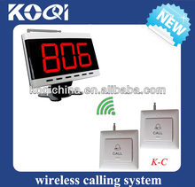 Hospital Nurse Buzzer System with display and call button