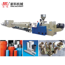 High quality plastic PVC pipe production line / PVC pipe making machine extrusion line