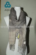2011 new Fashion Long 100% cotton printed scarf muffler