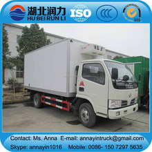 Dongfeng 4x2 refrigerated truck freezer truck refrigerator truck