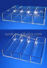 Acrylic serving trays, plastic serving trays wholesale from China supplier