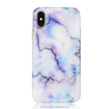 custom high quality marble mobile phone case for iphoneX soft TPU cell phone case for iphone