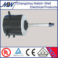 Copper wire Long shaft fan coil or washing machine single phase AC motor electric 240v