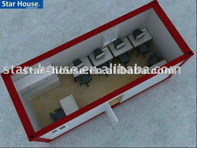 Mobile prefabricated houses / mobile office container