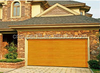 Sectional Automatic Cheap Garage Door Panel/insulated automatic garage door