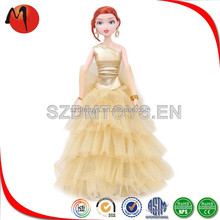 Custom Plastic Ball Jointed Dolls Barbie Dress Up Game for Girls