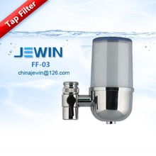Water filter faucet with activated carbon for health drinking water