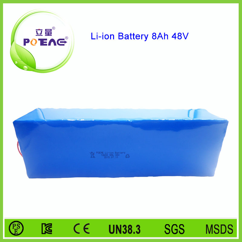 POEAE manufacturer golf trolley 18650 8ah lithium battery 48v