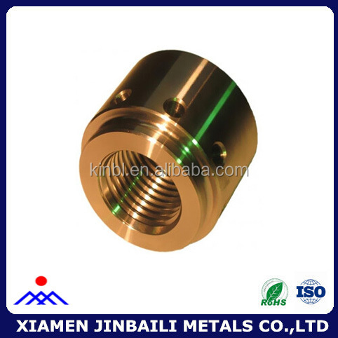 Custom precision CNC machining metal fittings
