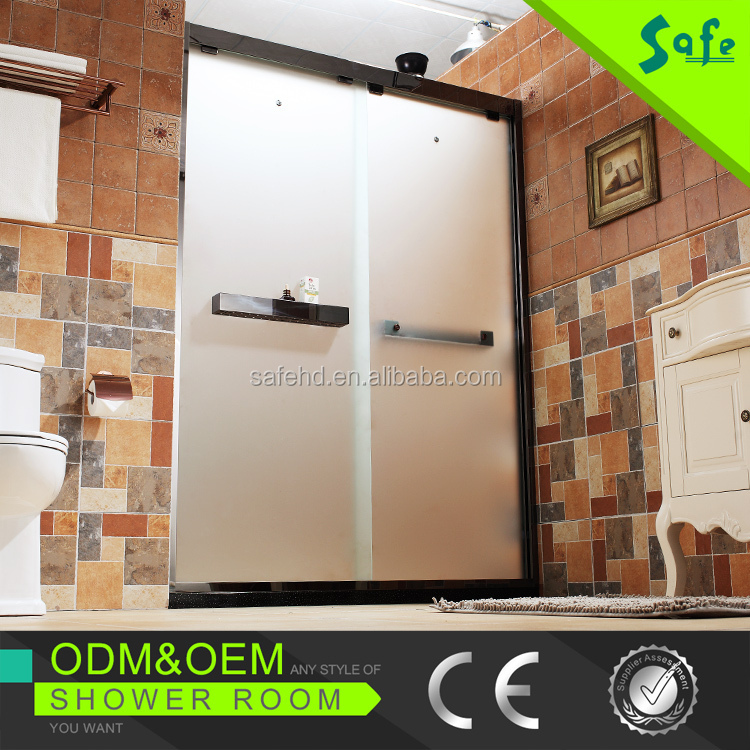 Fashion design shower door soft closing system