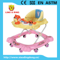 Cartoon nice musical Walker for baby Adjustable baby wallker Hot sale baby walker