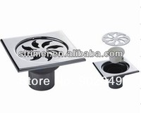 Square Kitchen Floor Drains Stainless Steel High Water-Seal Floor Drain KL-A103