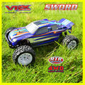Hot !!!1:10 rc car, 4WD electric truck,brushless version,factory price,good structures