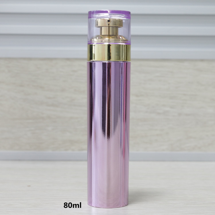 hot sale 80ml body lotion cosmetic bottles airless luxury skin care bottles