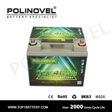 High-end HD series 12v 40ah lithium iron phosphate battery