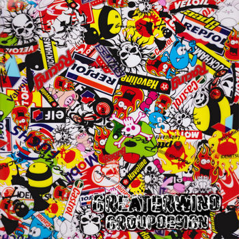 water transfer printing Hydrographic printer film Sticker bomb GWS001 width 50 cm