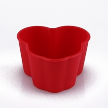 fashion silicone teacup cupcake molds
