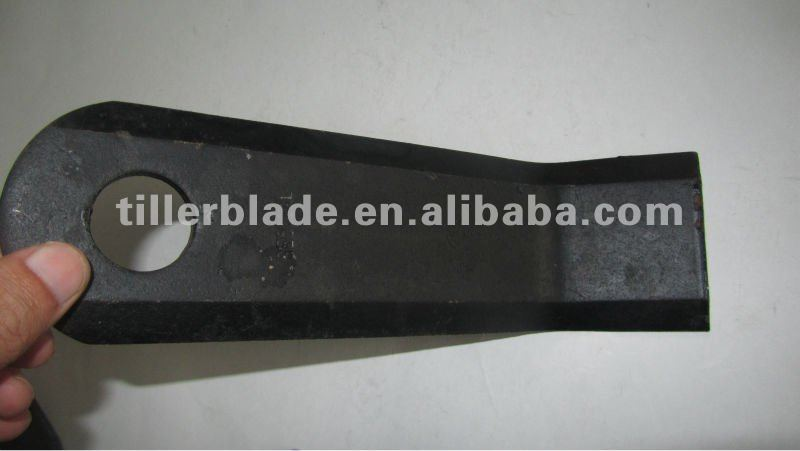 vary type flail farm blade in block