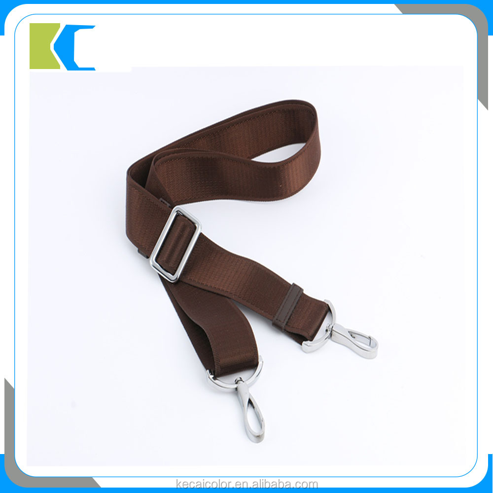 High Quality Nylon Webbing Shoulder Strap for bags with Hook