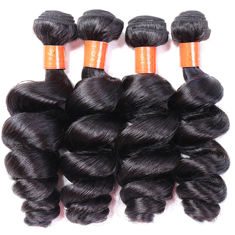 KBL raw virgin unprocessed human hair 100% 12 14 16 18 virgin indian hair,raw virgin hair vendors in india,super long hair human