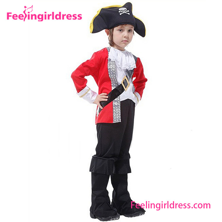 Wholesale Good Quality New Design Pirate Costume Kids