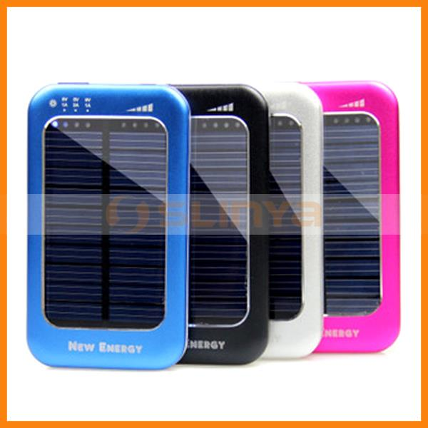 Promotional Items Multifunctional 3500mAh Solar Phone Charger Suitable for Phone Batteries