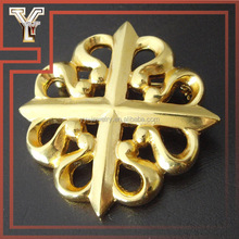 Jewelry Making Sideways Men's Brooch Pin Cross Brooch