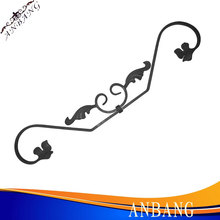 hot sales!decorative wrought iron railing parts,wrought iron scroll manufacturer 5141