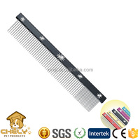 Various shape dog grooming comb,lice comb metal with strong durable pins