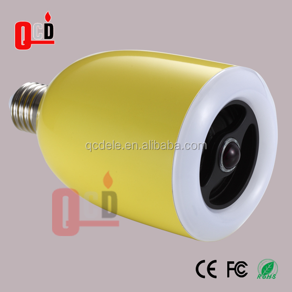 LED bluetooth speaker bulb E26/E27 interface passed FCC CE EMC LVD certifications.