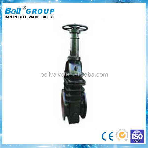 Cast Iron DN1800 Natural Gas Gate Valve