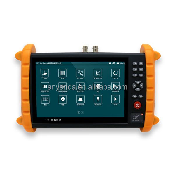 Best quality 7 inch IP and Analog IPC9600 cctv camera tester