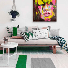 Hottest hotel wall decor oil paintings girl sexy image