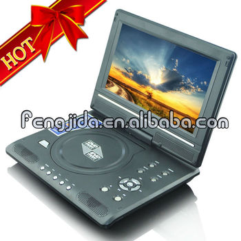9'' TFT LCD portable dvd player