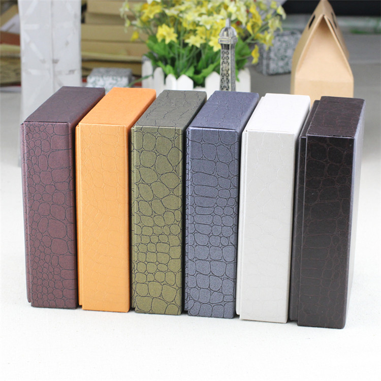 Factory manufacture PU leather wallet packaging box with good quality