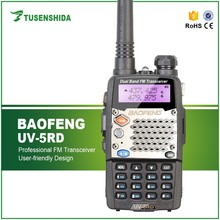 Baofeng UV-5RD UHF/VHF 5km handy Talkie Walkie with Lcd display and 1800mah battery Portable FM 2 Way Radio transceiver