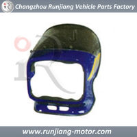 China Factory Headlight cover Used For Suzuki AX100 motorcycle fairing parts