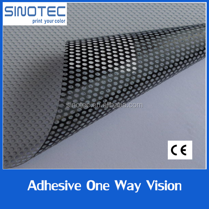 one way vision mesh one way vision material one way vision plastic film