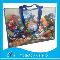recycled custom popular health food packing non woven bag