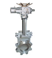 flanged knife gate valve carbon steel