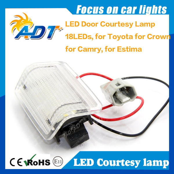 Hot selling Led License Number Plate Light For Toyota Prius Alphard Vellfire Isis auto parts