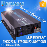 CE approved high efficiency 3000w dc to ac pure sine wave power inverter