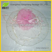Organza Bag grosgrain ribbon shoe lace