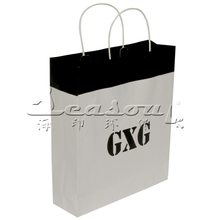 Luxury paper bag for shopping tote kraft paper bag