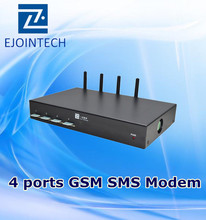 voip gsm modules equipment sip asterisk sms and voice gateway goip-4